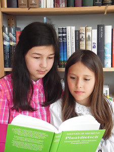 Plautdietsch-enne-School-Motiv-2