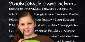 "Plautdietsch enne School - dee ""FRIND"" berecht enne Utgow 2014 doarewa. © Claudio Martens"