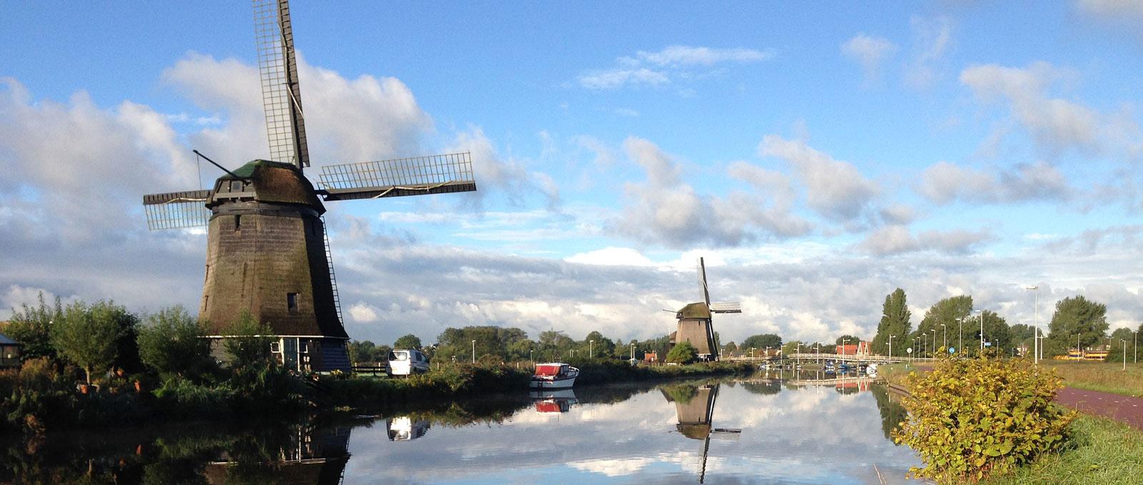 Windmühlen in Holland. © pixabay.com