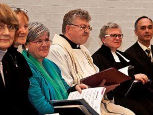 Ökumenische Jemeensaumtjeit met Katholitje en Evangelische biem Jemeendedach. ©Horst Martens