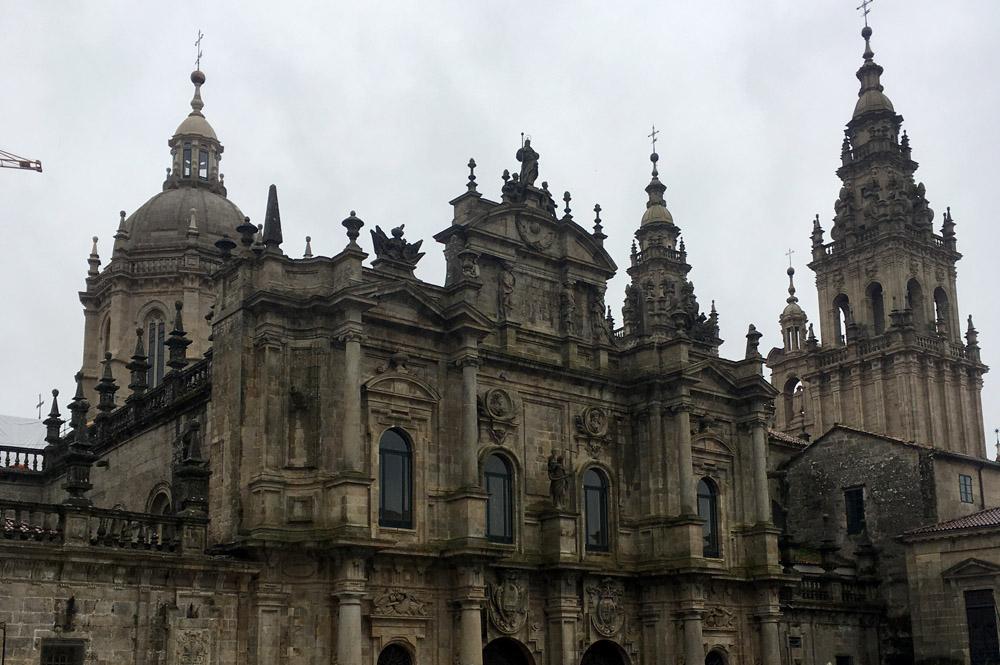 Endlich aum Ziel: Santiago de Compostela. Foto: Peter Isaak.
